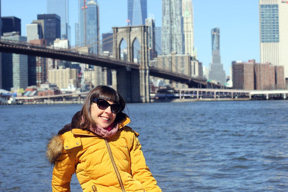 Sola en Nueva York